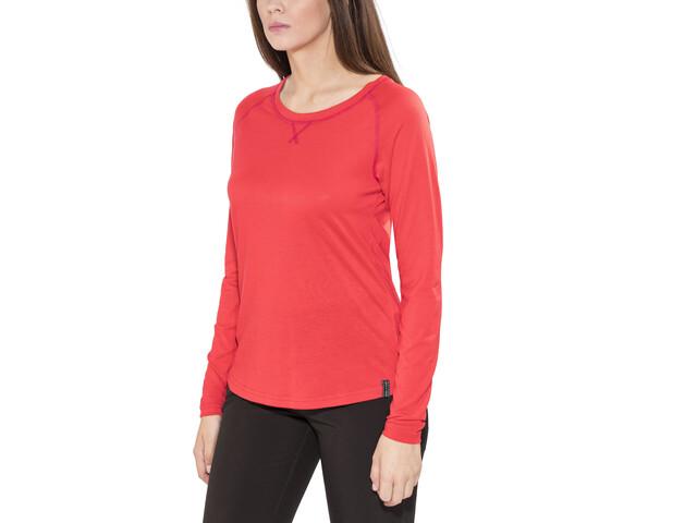 Bergans Cecilie Longsleeve Shirt Damen strawberry/bougainvillea
